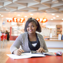 Kingston ISC student Ezenwa DUMTOCHI.