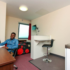 St Georges Tower accommodation, Leicester ISC
