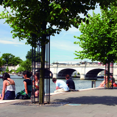 Relax by the River Thames in leafy Kingston