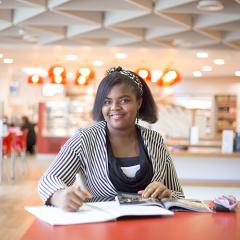 Kingston ISC student Ezenwa DUMTOCHI.